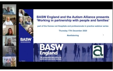 BASW & Autism Alliance – video of webinar held on 17 December 2020